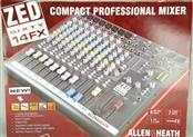 Allen & Heath Professional Digital FX USB Mixer ZED60-14FX